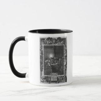 """Mug Illustration de """"Le Lutrin"""" par Nicolas"""