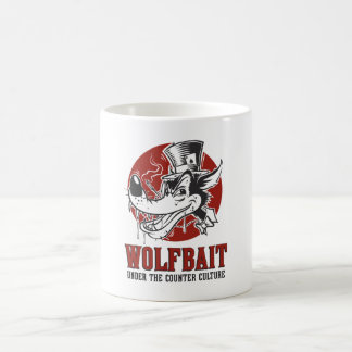 Mug Illustration de rockabilly/Psychobilly Wolfbait