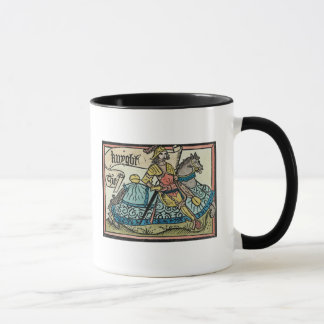 "Mug Illustration ""des contes de Cantorbéry"