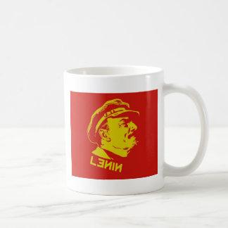 Mug Illustration jaune et rouge de communiste de