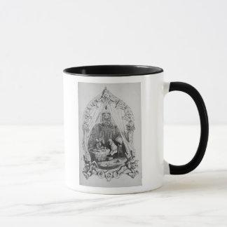 """Mug Illustration """"que le Pickwick empaquette"""" par"""
