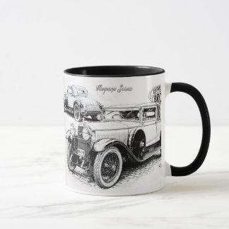 Mug Illustration vintage de voiture