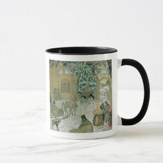 "Mug Illustraton pour ""Dubrovsky"", par Alexandre"
