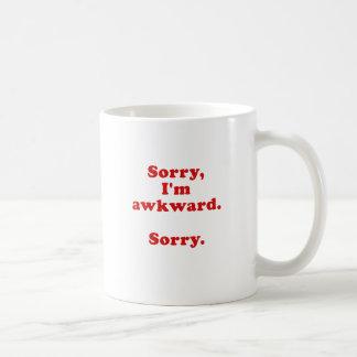 Mug Im désolé désolé maladroit