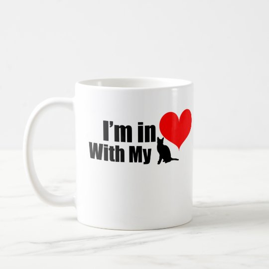 Mug Im In love With my cat