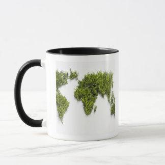 Mug image de carte du monde