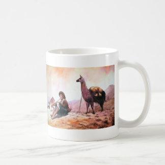 Mug Image de lama de Cusco Pérou
