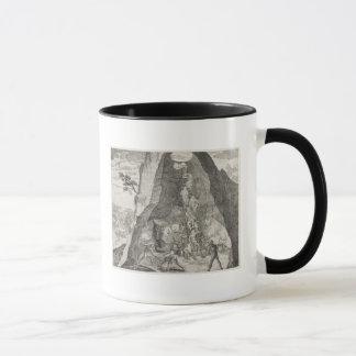 Mug Image étrange des Toilers dans les mines de