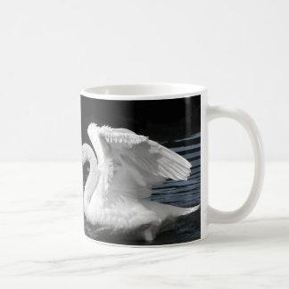 Mug Image retournée blanche de cygne muet