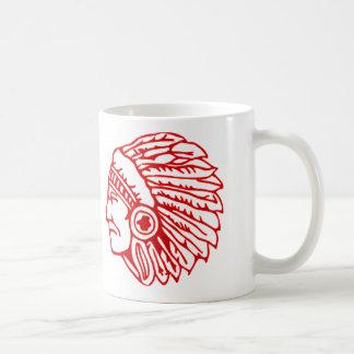 Mug Indien rouge de Peau Rouge