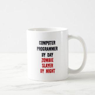 Mug Informaticien par le tueur de zombi de jour par