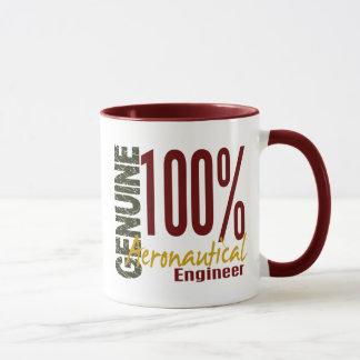 Mug Ingénieur aéronautique véritable