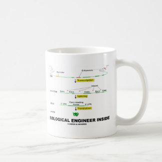 Mug Ingénieur biologique à l'intérieur