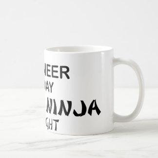 Mug Ingénieur Ninja mortel par nuit