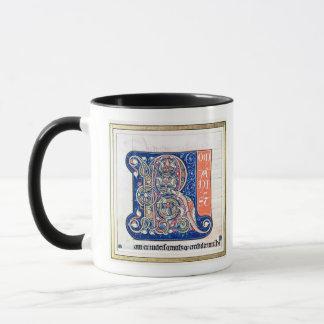 "Mug Initiale ""R"" 2 de Historiated"