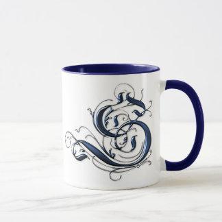 Mug Initiale vintage S