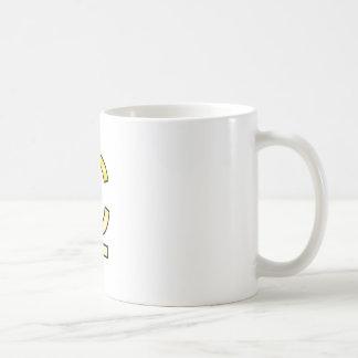 Mug initiales  C et L en or