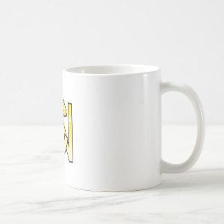 Mug initiales  C et N en or