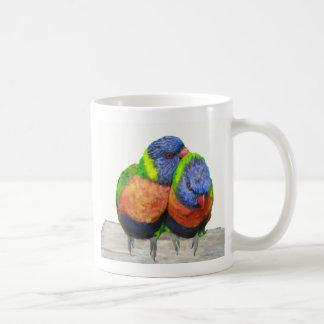 Mug Inséparables de perruche