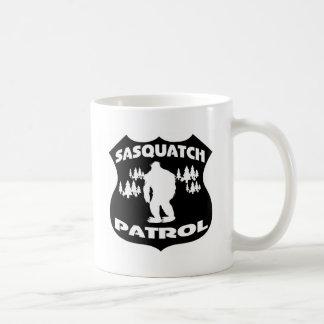 Mug Insigne de forêt de patrouille de Sasquatch
