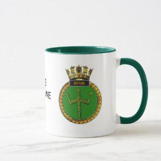 Mug Insigne de voie HMP Neptune