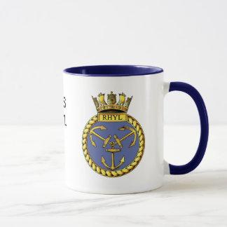 Mug Insigne de voie HMP Rhyl