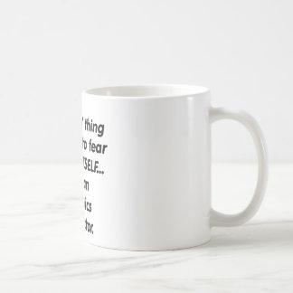 Mug instructeur d'aérobic de crainte