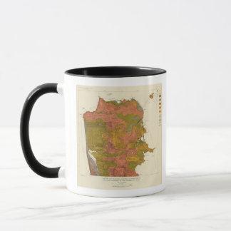 Mug Intensité de San Francisco de tremblement de terre