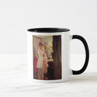Mug Intérieur avec l'épouse de l'artiste, 1889