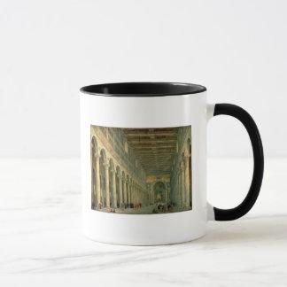 Mug Intérieur de l'église de San Paolo Fuori le