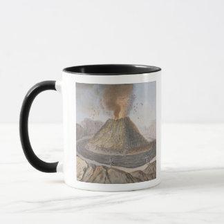 Mug Intérieur du cône du Vésuve avant l'E 1767