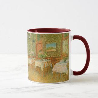 Mug Intérieur d'un restaurant par Vincent van Gogh