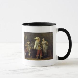 Mug Intérieur d'une auberge, 1636
