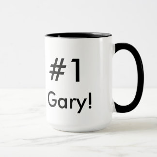 Mug Interprète de supérieur de #1 Gary