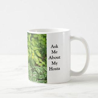 Mug Interrogez-moi au sujet de mon Hosta