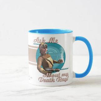 Mug Interrogez-moi au sujet de mon rayon de mort !