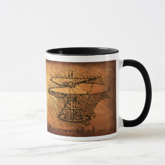 Mug Inventions de Leonardo da Vinci