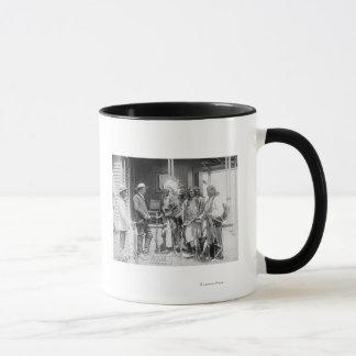 Mug Inverse d'hommes de Cheyenne avec le blanc