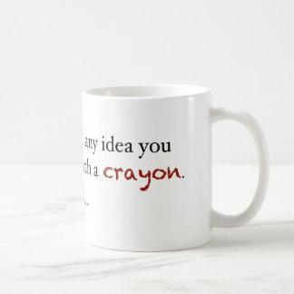 Mug Investissement de crayon