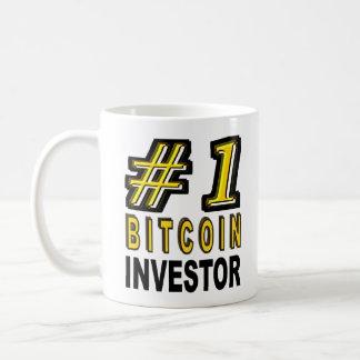 Mug Investisseur de Bitcoin du numéro un