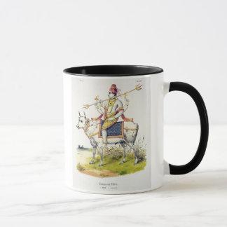 Mug Ishana ou Shiva, gravé par C. de Motte (1785-183