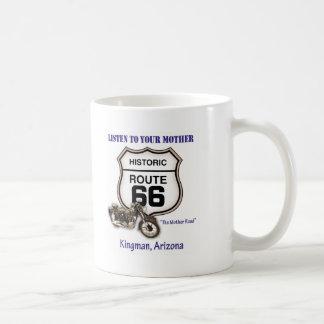 Mug Itinéraire 66-Listen à votre mère Kingman