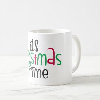 Mug It's Carte de voeux Time