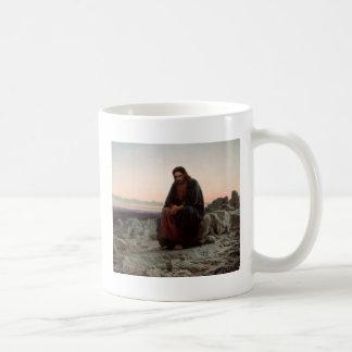 Mug Ivan Kramskoy- le Christ dans la région sauvage -
