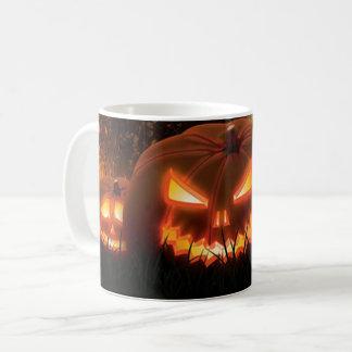 Mug Jack-O-Lanternes déplaisantes éffrayantes