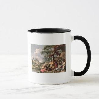 Mug Jacob enterrant les dieux étranges sous le chêne