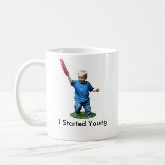 Mug J'ai commencé des jeunes