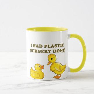 Mug J'ai fait faire la chirurgie plastique