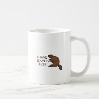 Mug J'ai la fièvre de castor