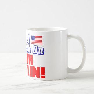 Mug J'ai un écrasement sur Sarah Palin !